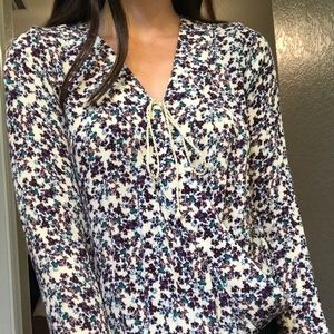 Mossimo wrap floral top